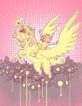 Michelle on a Pegacorn by HebrewGod
