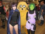 Jake and Teen Titans by LotusOfTheLeaf