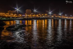 Boumerdes At Night by Yashy-Sich