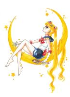 Sailor Moon by Lady-Butterfly19