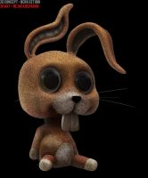 Rabbit Toy Right by CodFather
