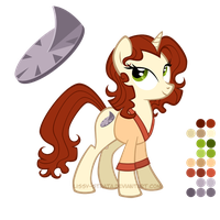Reference Sheet: Romana I by LissyStrata