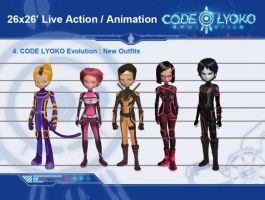 code lyoko evolution worriors by Ulrich93160