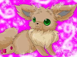 Baby eevee by Blood-Charm