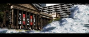 Surge the State Library by Sostopher