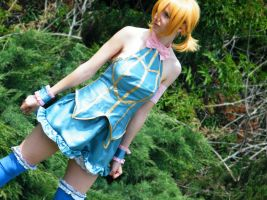 Celestial Dress: Lucy Heartphilia by MewIly