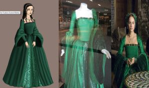 Anne Boleyn's Green Gown: The other Boleyn Girl by Inuyashasmate