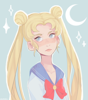 usagi by peachgelic