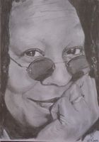 Whoopie Goldberg by kasunjill