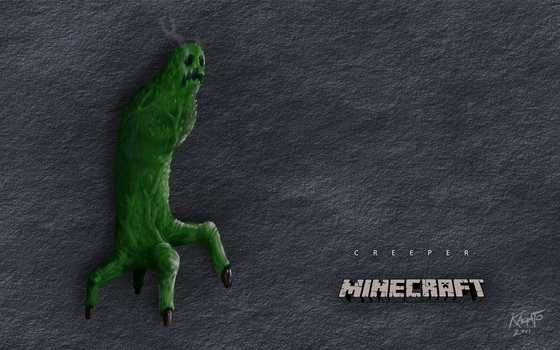 Creeper Wallpaper by StudioKagato