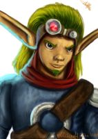 Jak from Jak and Daxter by MeLiNaHTheMixed