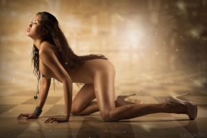 Golden Girl by Photorotic