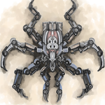 Mechanical Spider by Crowsrock