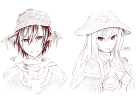 AO2 sketches by Mayunnaise