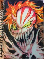 Ichigo Full Hollow by WingedPhantom86