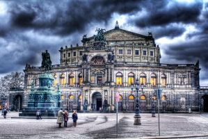 HDR Semperoper Dresden by HAPZ86