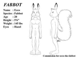 COM : Fabbot Ref Sheet by whiteguardian