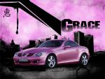 G-Race - Pink SLK by hexerei