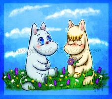 . : Moomin love : . by GenyStar