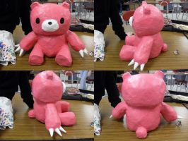 Gloomy Bear Paper Mache by renachristsuperstar