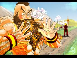 Zangief VS Ken by NDGO