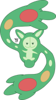Reuniclus (vectorised) by Menshay