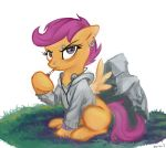 Grunge Scootaloo by Hobbes-Maxwell