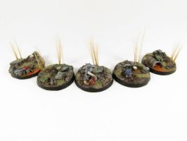 40mm Resin Bases by goofeegrins