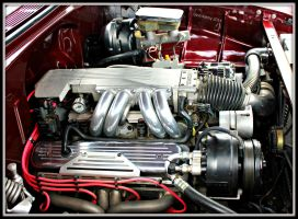IROC Motor In 55 Chevy by StallionDesigns