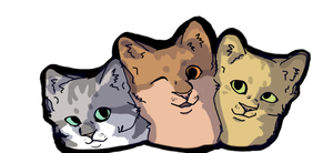 Thee cats, one whole... by MagaSushi