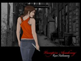 Rose Hathaway by Mariah-Wall