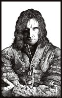 Sir Guy of Gisborne WIP by Rinter