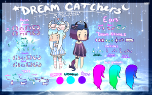 Species Guide: Dream Catchers: Closed Species by ObsceneBarbie