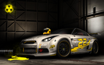 Radioactive GTR Silver by M-a-z-a