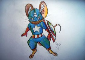 Captain Mouse by SimonTheFox1