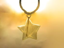 Tape Star Pendant by WaterDroplette
