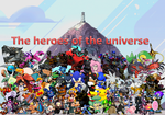 The heroes of the universe by pokekid333