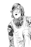 Mitch Lucker by FadoilurDKV