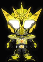 kamen rider Light by demen30000