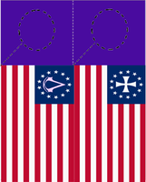 AC FLAG DOOR HANGERS by k-h116