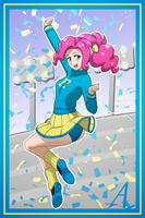 Pinkie Pie: CHEER!!! (No Pompoms Ver.) by AcesRulez13