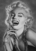 Marilyn Monroe by urosh1991