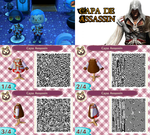 QR Code ACNL: Capa de Assassin Creed by One-Eco