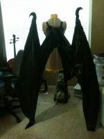 SE!Ulquiorra cosplay progress: Wings by KoltirasRip