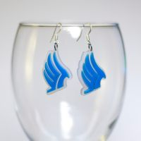 Mass Effect Paragon Earrings by Zamataj