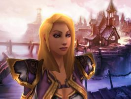 Jaina Proudmoore Tribute by Sxania