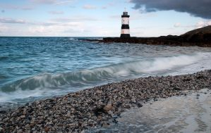 Penmon lighthouse by grifasp