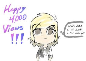Happy 4,000 Viewsgiving!!! by Gimron