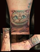 cheshire cat by carolyn-cadaver