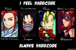 Always Hardcore by agra19